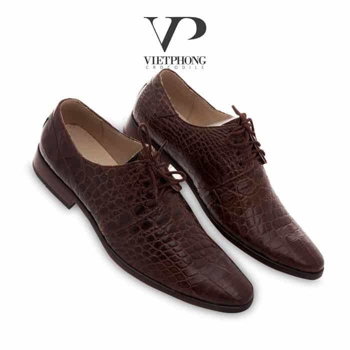 giày da cá sấu Việt Phong