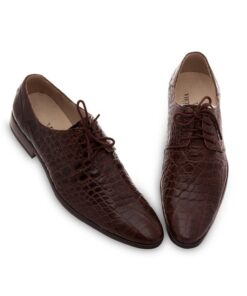 Crox Leather lace-up Shoes
