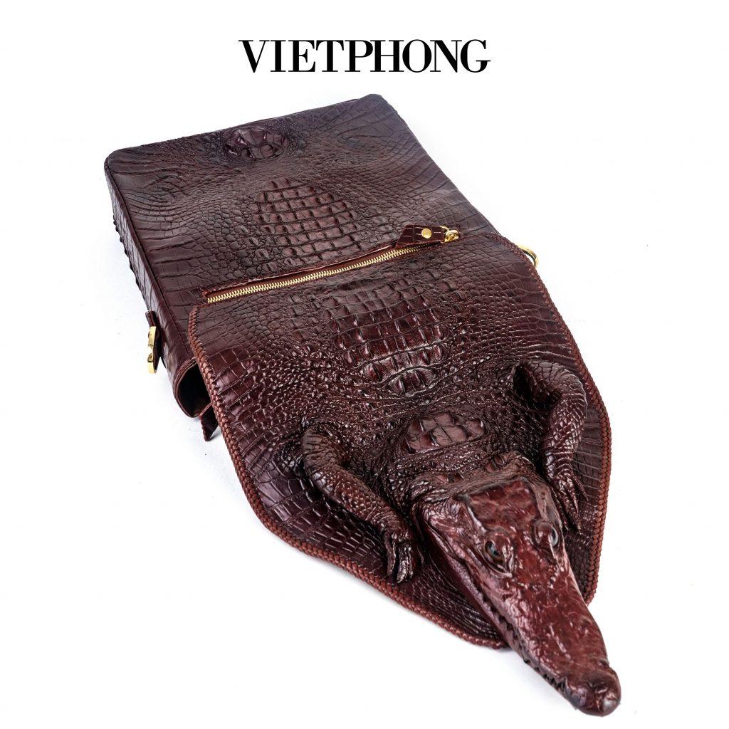 Thời trang nam da cá sấu- Sự lựa chọn đẳng cấp bất biến theo thời gian