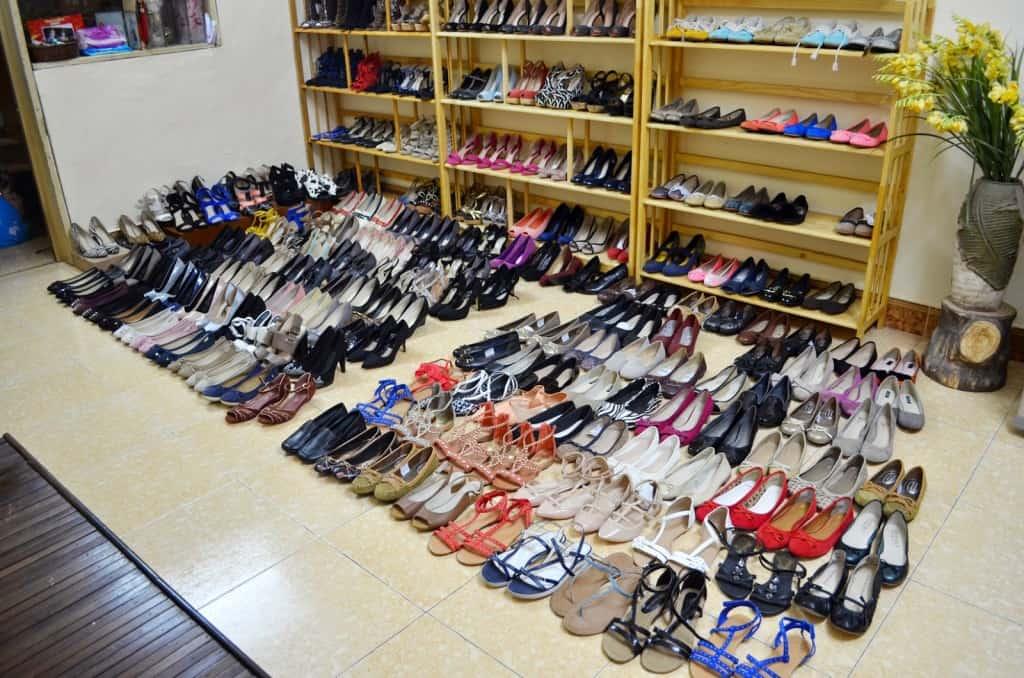 Chợ bán sỉ giày dép tại TPHCM