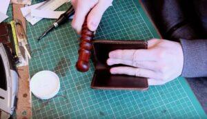 Hướng dẫn cách làm ví da may thủ công