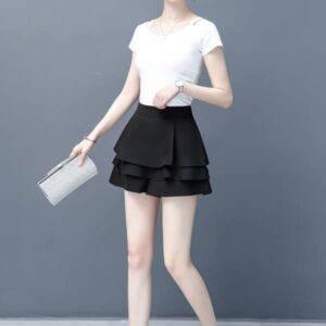 Bật mí các kiểu quần giả váy đẹp không nên bỏ qua