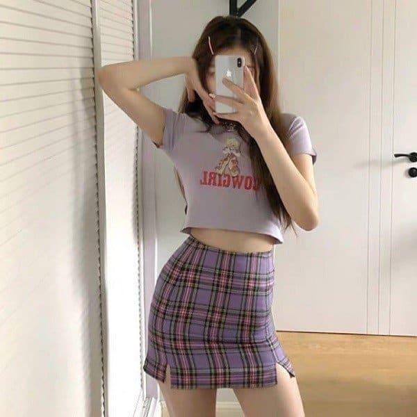 Cách phối đồ với áo croptop cực xinh cho mọi cô gái