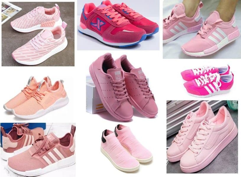 Cách phối đồ với giày màu hồng ấn tượng
