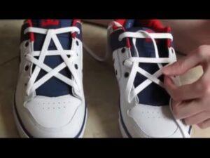 Cách thắt dây giày hình ngôi sao dễ thực hiện nhất