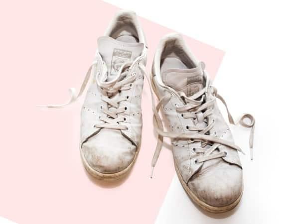 Bí quyết giặt giày trắng thể thao, vải da cực sạch