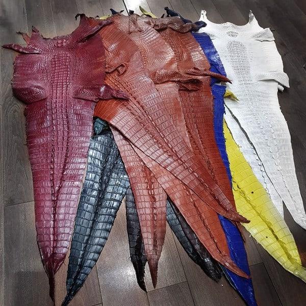 Cách chọn da cá sấu nguyên con đẹp rẻ để làm gia công hay nhất