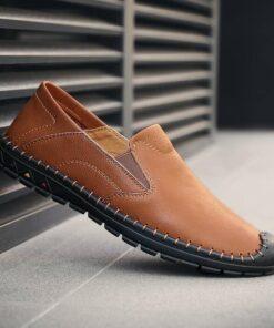 Giày da bò 8