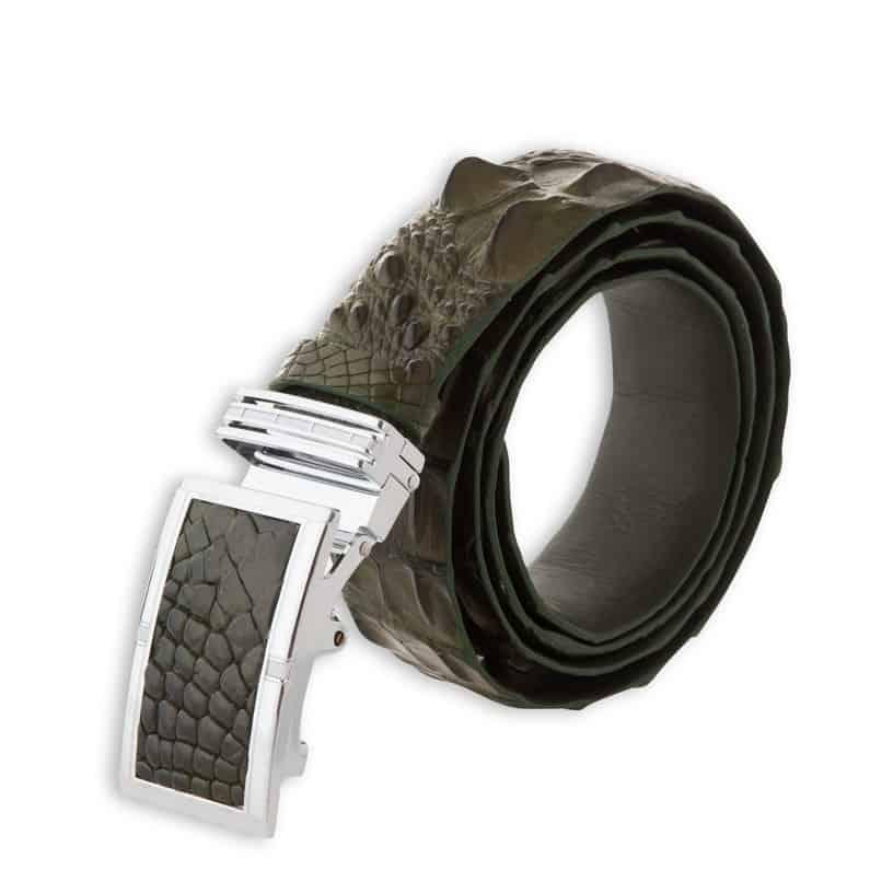 Đầu khóa dây nịt da cá sấu