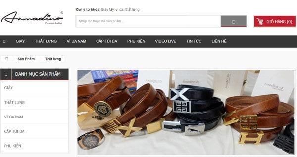 Top 5 shop thắt lưng nam đẹp, cao cấp, giá tốt nhất TPHCM