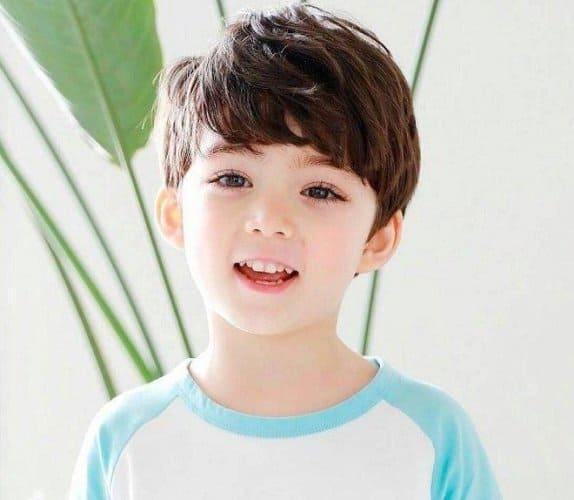 Kiểu tóc bé trai Hàn Quốc
