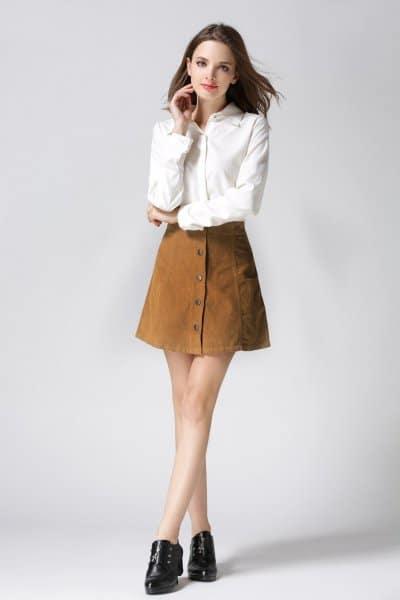 Top 3 mẫu chân váy chữ A đẹp mê mẩn hiện nay