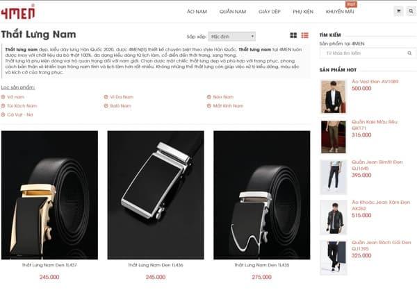 Top 8 địa chỉ bán thắt lưng da nam giá rẻ tại Hà Nội